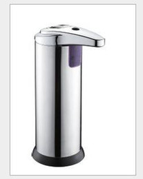 Wholesale Soap Dispenser Stainless steel Top grade Automatic Sensor amp Sanitizer Touchless Handsfree Bathroom Factory direct sales