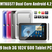 9 inch anroid tablet pc - Free DHL quot inch LT903A MTK6577 Dual Core Tablet PC GPS Bluetooth Anroid MB RAM GB ROM Dual Camera G Phablet Phone