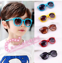 Wholesale The new children s sunglasses lovely baby round frame sunglasses nail uv m children sunglasses