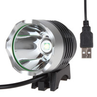 LED Headlamp bicycle strobe lights - USB powerd Lumen W CREE XML T6 LED Front Bike Light Bicycle Lamp Aluminum alloy for Cycling lamp with Modes LEG_568