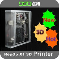 Ethernet Dot-matrix Color 2014 New DGO points to construct the 3D High-precision 3D printer Self replicating machines Repgo folded open source DIY parts The 3D printe
