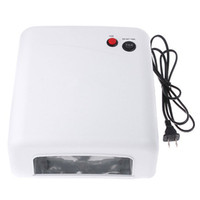 Wholesale amp Dropshipping US Plug W V Gel Curing Nail UV Lamp Polish Dryer with W UV Light Bulb