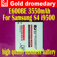 Wholesale Gold dromedary mAh B600BC High Capacity Battery for Samsung Galaxy S4 i9500 i9505 i9508 M919 L720 I545 not NFC capable