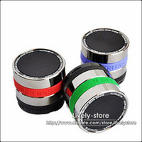 Free DHL 20pcs Bluetooth Speaker Mini Camera Lens Speaker 16...