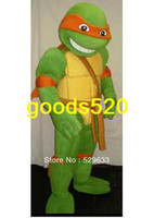 Wholesale Teenage Mutant Ninja Turtles adult size Cartoon Mascot Costume Fancy Dress Party Suitmascot