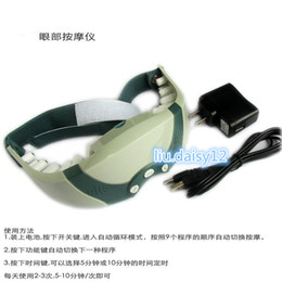 Wholesale Magnetic Eye Care Massager Electric Alleviate Fatigue Healthy Forehead medical health care
