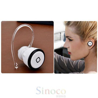 Wholesale Super Mini Universal Wireless Mobile Bluetooth Headset Earphone for iPhone Galaxy Note S4