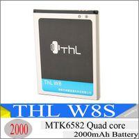 2000mAh Batería Original para ThL W8 w8s Teléfono Inteligente