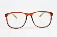 Any occasion  eye glasses - The new anti ultraviolet radiation blue film glasses plain mirror computer goggles Transparent eye glasses
