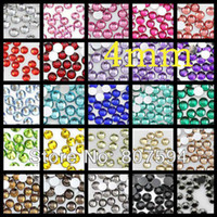 Wholesale mm Mobile phone diy finger stickers Colorful changeable flatback Acrylic Rhinestone Buttons B28