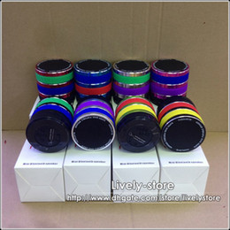 Wholesale MOQ Portable Bluetooth Speaker Camera Lens Speaker B Wireless Speaker W card slot For iPhone iPad Samsung Tablet PC