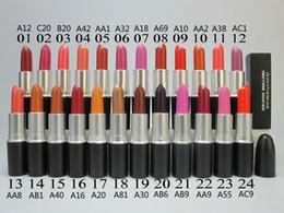 Wholesale High quality New Makeup Matte Lipstick g colors English name