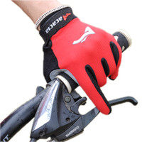 Wholesale ACACIA Men s Winter SkidResistance SRG Silicone Gel Paded Road MTB BMX Bike Bicycle Cycling Cycle Wear Full Finger Gloves Color