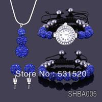Cheap Others Shamballa Crystal Jewelry Best Celtic Women's Shamballa watches sets