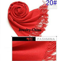 Wholesale 2014 Hot Pashmina Scarves Cashmere silk scarf Ponchos scarves Wrap Shawl colors LOWEST PRICE