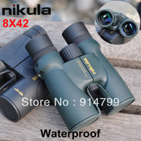 Wholesale High Quality Central Zoom Portable Waterproof LLL Night Vision Binoculars Telescope Style No Nikula X42