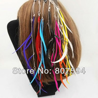 Hair Extension Yes Clip-In Free Shipping #24pcs lot 2013New Arrival Fasion&Natural feather hair Clip-in accessories for Women