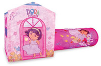 Wholesale Gift dora playhut child tent oversized game house belt tube