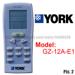 Wholesale Replacement for YORK Split And Portable Air Conditioner Remote Control GZ A E1 Air conditioner parts