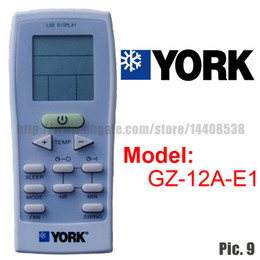 Wholesale Replacement for YORK Split And Portable Air Conditioner Remote Control GZ A E1 Air conditioning parts