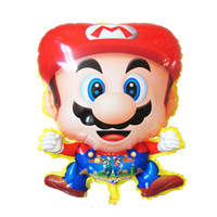 Wholesale Mario Balloon Cartoon Character Helium Balloon Party Decoration Gift For Kids