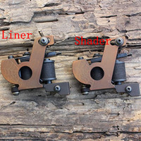 Wholesale Custom Cast Iron frame Tattoo Machine Guns Handmade For tattoo kit supply