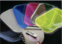 Wholesale Hot sale dashboard pad Non Slip Anti Slip Mat Sticky Pad For mp3 mp4 Car Magic asm