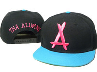 Wholesale Tha Alumni Snapbacks Fashion Hats Popular Camo Caps Newest Streetwear Snap Back Hats Embroidered Logo Adjustable Hats Cool Sports Caps