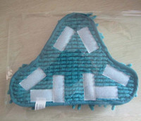 floor pads - Fedex Microfibre CORAL steam mop Replacement with or velcro Pads for H2 STEAM MOP