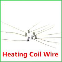 Wholesale Electronic cigarette coil wire ohm Resistance Resistor Heating Coil Wire for E Cigarette Atomizer DIY Ready For Soldering TT1915