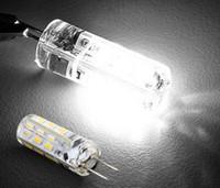 Acheter G4 blanc bulbe-SMD 3014 Ampoules Lustre Cristal lumières DC 12V G4 2W 24 Leds blanc chaud / blanc frais conduit maïs lumière avec 2 ans de garantie