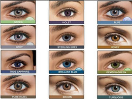 Wholesale Freshlook pair U pick color Contact Lens Tones Colorblends DHL fast for eyes contact lenses