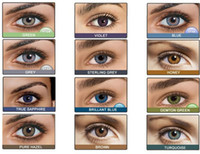 Wholesale Freshlook pair with cases U pick color Contact Lens Tones Colorblends DHL fast for eyes contact lenses