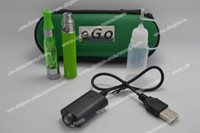 eGo CE4+ E Cigarette Zipper Case Starter Kits eGo- T Battery ...