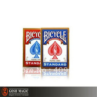 Wholesale Bicycle Rider Back Standard Playing Cards Red or Blue Christmas magic tricks