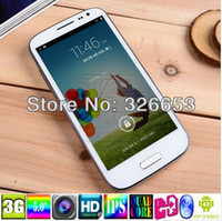 "5.0 Android 1G FEITENG S4 h9500 Quad Core Smart phone 1GB RAM 4GB ROM 5.0"" inch 1280x720 mtk6589 GSM WCDMA WIFI android phone 13MP CAMERA"