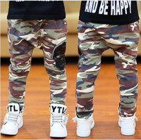 Wholesale 2014 Camouflage Skull Children Casual Pants Outdoor Fashion Boy Casual Trousers Kids Camouflage Namy Style Pants GX49