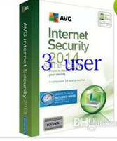 Wholesale AVG Internet Security entire function software English years four years card pc