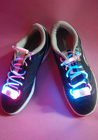 Unisex Big Kids Plastic Latest model LED Flashing shoelace light up shoe laces Laser Shoelaces 20pcs=10pairs