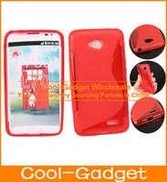 For LG Silicone Wholesale Flex Anti-Skid S Line S-Line Wave Silicone Rubber TPU Gel Skin Case Cover for LG L70 L90 L80 L40 F70 100pcs lot L70C03