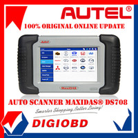 Wholesale Authorized Distributor Auto Scanner Autel MaxiDAS DS708 update via internet full package original DS Code Reader