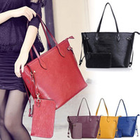 Wholesale utility Women Handbag Real Leather Picture in package Tote satchel BR433