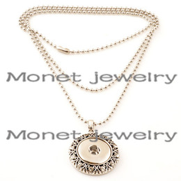 Wholesale A15084 OEM ODM welcome newest pendent noosa chunk necklace charms noosa penndet necklace can be customized