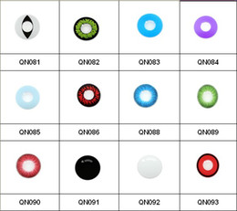 Wholesale 100pair piece Mixed Color Crazy contact lenses tone contact lens art lens cosplay colored lenses for eyes color contacts contact crazy