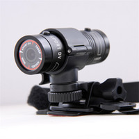 Wholesale Newest Mini F9 Full HD P Sport Action Camera for Bike Mount Helmet Bracket M Car Holder degree waterproof DVR