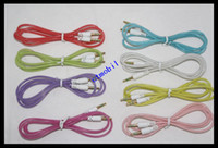 Wholesale Luminous aux cable mm Night light auxiliary audio cable For iphone samsung htc