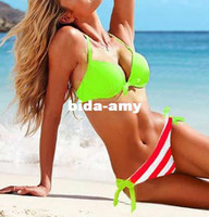 Wholesale Novelties Women Bikini Sexy Swimwear VS Summer Beach Wear Swimming Suits Items Tops and Pants Gaga Deals