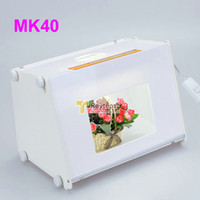 Wholesale SANOTO MK40 quot x12 quot Portable Kit Photo Photography Studio Light Box Softbox MK40 size mm DHL