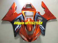 For Yamaha fairing r1 - 7 gifts Motorcycle Fairing kit for YAMAHA YZFR1 YZF R1 YZF R1 YZR1000 Orange matte black fairings bodywork YW22