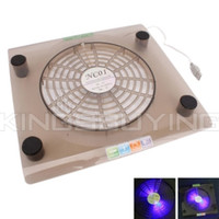 Wholesale 828 cm Big Fan USB LED Light Laptop Cooling Pad